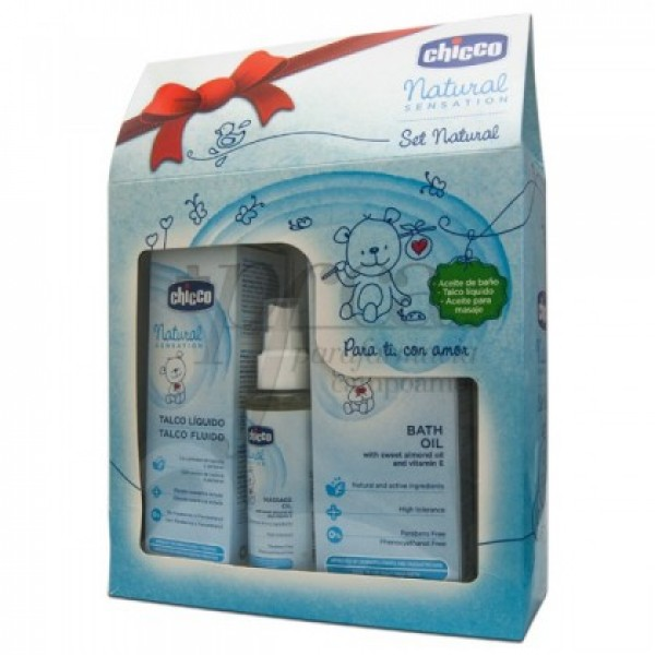 CHICCO NATURAL SENSATION SET NATURAL PROMO