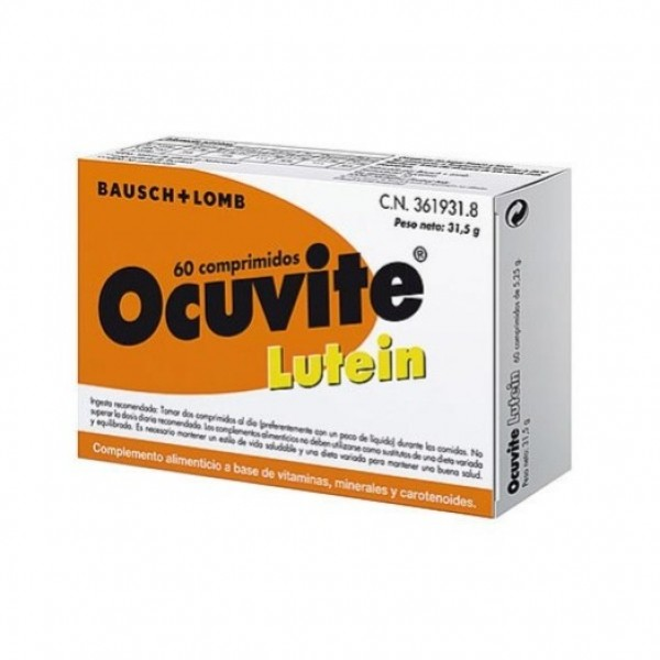 OCUVITE LUTEIN 60 COMPS